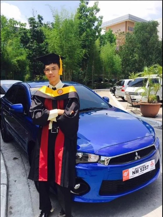 Graduate gets brand new car as gift