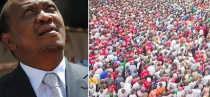 How Uhuru Kenyatta nearly scattered his own votes during Dagoretti tour