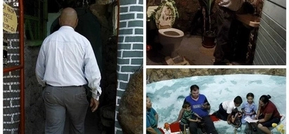 Man digs 63-foot deep hole for his family to live in; It took him 12 YEARS to finish it (see photos)