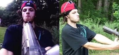 Crazy Youtuber shot himself in the face with a paintball gun point blank!