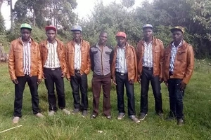 Brown leather jackets aside, this is how  Eldoret chics dress up for a red-carpet event
