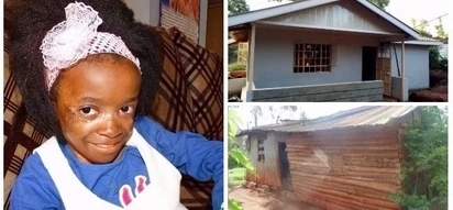 Modern two-bedroom home built for 9-year-old Eunice Wanjiku after Kenyans raised millions for her treatment