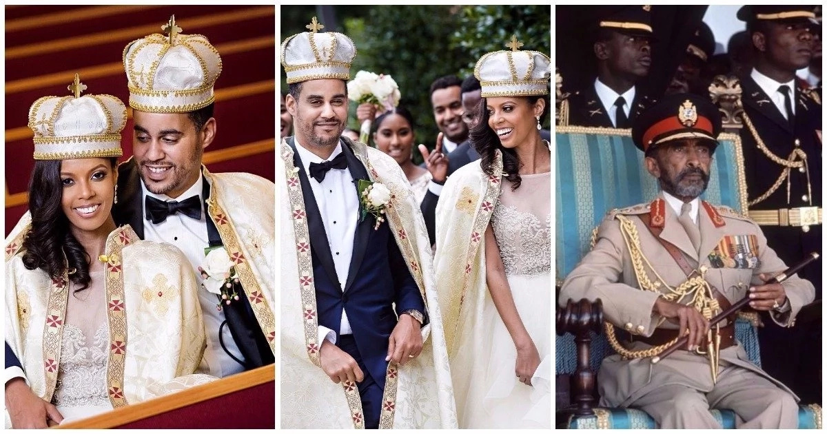 33-year-old American woman marries great-grandson of Ethiopia's Emperor Haile Selassie I (photos)