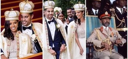 American woman, 33, marries great-grandson of Ethiopia's Emperor Haile Selassie I