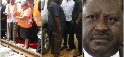Raila SLAPS Uhuru with a HARSH truth after governor Joho was barred from attending SGR launch