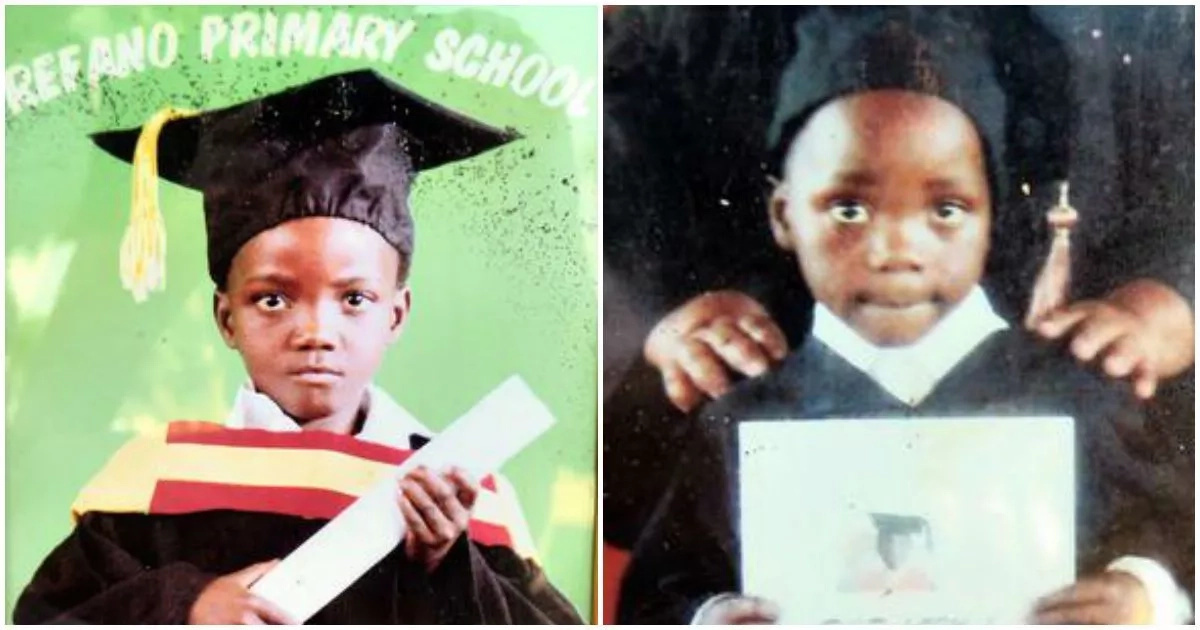 Thembelani (left) and Siyabonga Phoswa, who sadly died in the accident