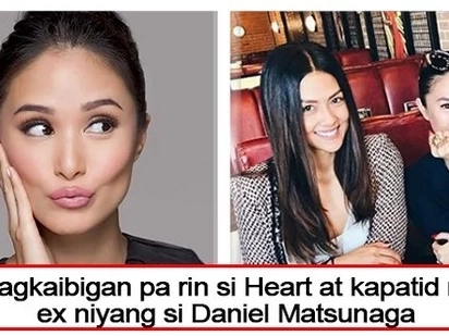 Kumain sa resto ni ex! Heart Evangelista spotted with Vanessa, Daniel Matsunaga's sister at their restaurant