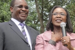 This is why you have never seen Governor Kidero's wife at Kenyan functions