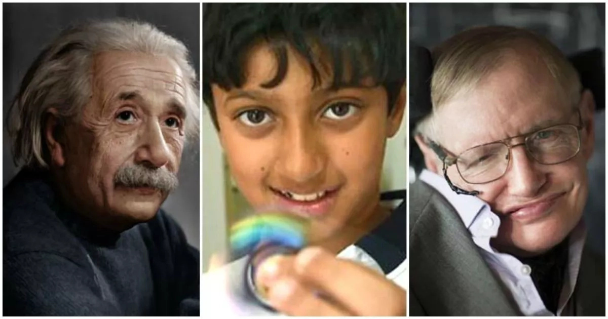 11-year-old boy scores higher than Albert Einstein and Stephen Hawking in IQ test