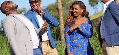 Finally Keroche heiress, Anerlisa Muigai shows her man's face