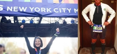 Running buddies din pala! Showtime hosts Anne Curtis and Kim Atienza join world's largest marathon in NYC