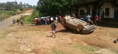 Chaos in Vihiga as angry youths descend on Vehicles allegedly carrying ballot papers