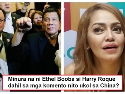 Sunugan na ito! Ethel Booba's reaction to Harry Roque downplaying Benham Rise conflict with China goes viral