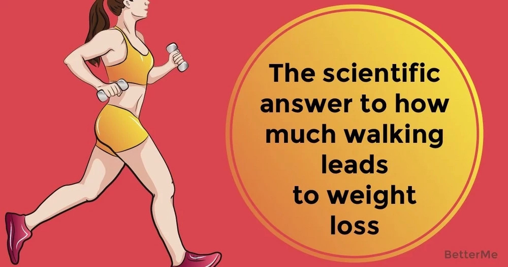 The scientific answer to how much walking leads to weight loss