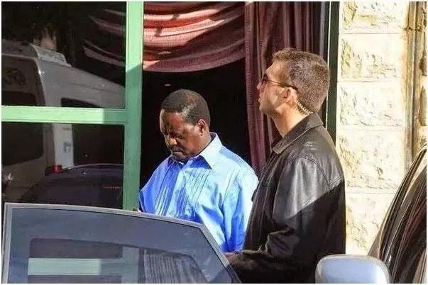 Raila denied bodyguards