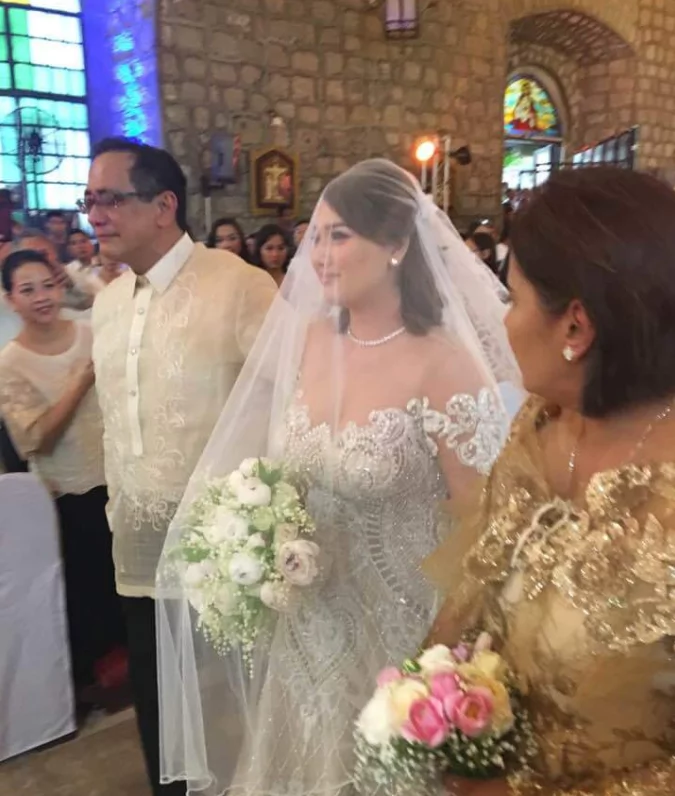 Mabuhay ang Bagong Kasal! Former PBB housemate Niña Jose weds billionaire Pangasinan mayor for the second time