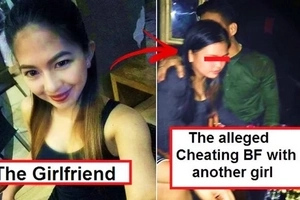 Babaero rawi! This Pinay netizen uploaded a photo of her boyfriend allegedly flirting with a girl in a club: 'Bilisan mo na mambabae at umuwi ka na'