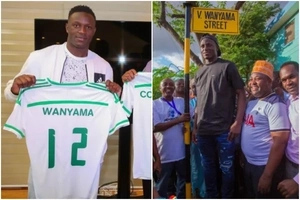 Beautiful surprise as Tanzania names street after Victor Wanyama