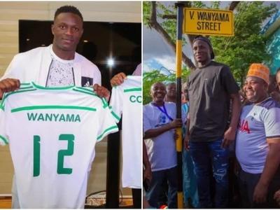 Beautiful surprise as Tanzania names street after Victor Wanyama