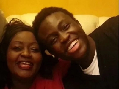 Achieng Abura's 23-year-old son, who is SICK and needs urgent treatment