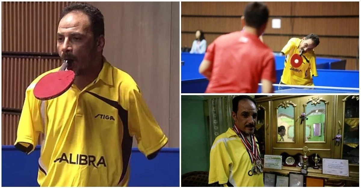 Nothing is impossible! Meet amazing table tennis player who has no arms (photos)