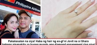 Pakakasalan siya! Jovit Baldovino's ex-gf Shara Chavez flaunts sparkling engagement ring and netizens happily send her congratulatory messages