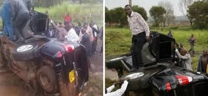 7 politicians whose cars got involved in road ACCIDENTS; read what happened to Raila's