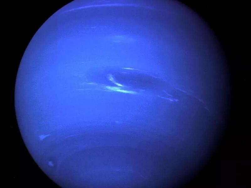 Primer vórtice oscuro de Neptuno para este siglo