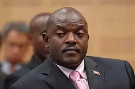 Pierre Nkurunziza was born on December 18, 1963. He has been president of Burundi since 2005. Image: Courtesy