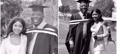 Never too late! Daughter celebrates dad who finally got his first degree at age of 54