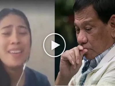 #Bongga: She changed the lyrics of 'Anak' and made a song for President Duterte!
