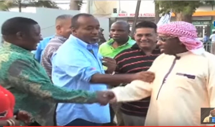 Joho 'threatened' for calling DP Ruto a land grabber