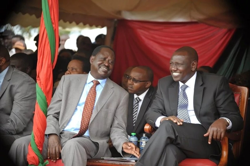Has Deputy President William Ruto squashed his beef with Raila Odinga? Details