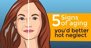 5 signs of aging you'd better not neglect