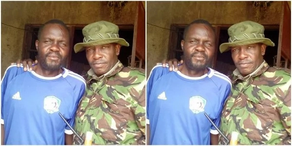 Kenyan former star footballer is sick and lives in abject poverty(photos)