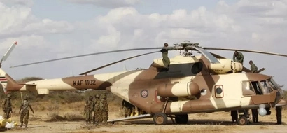 Photos of Sonko near a KDF helicopter raise concerns over use of military resources in campaigns