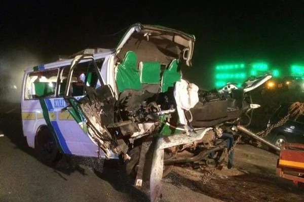 17 dead in grisly road accident on Thika-Garissa highway