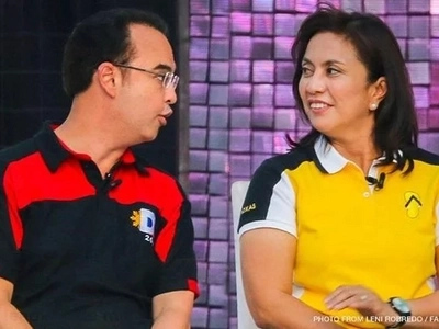 Cayetano questions Robredo's achievements, accepts dare vs Marcos