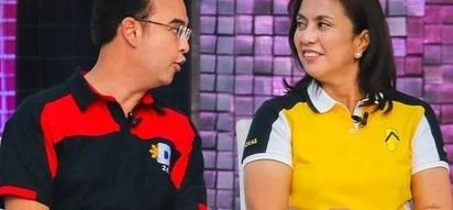 Cayetano questions Robredo's achievements, accepts dare vs Marcos