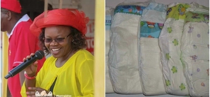 MP aspirant promises to buy diapers for residents after pleading with men to sire children