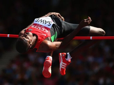 Matthew Sawe wins gold in High jump in Durban