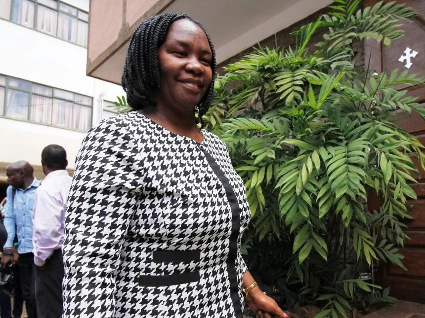 Francis Nyenze's wife officially launches her bid for Wiper party nomination ticket