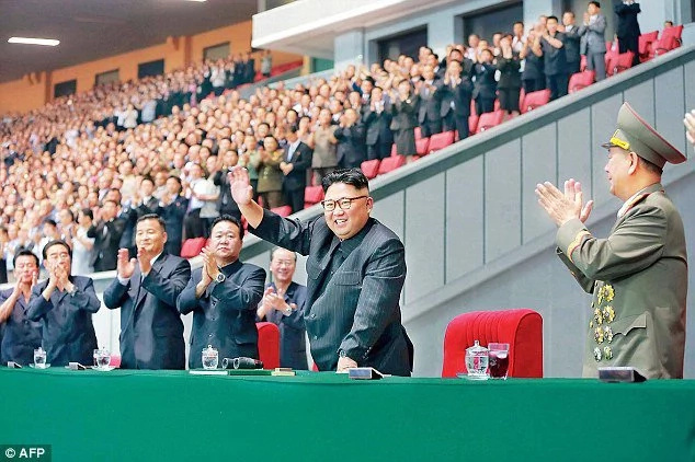 Kim Jong-un executes his education minister just for bad sitting!