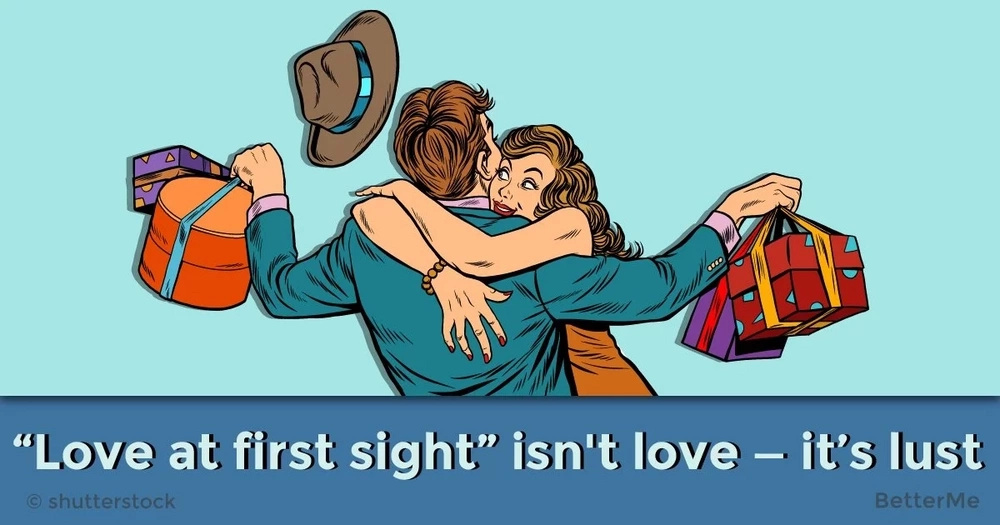"""Love at first sight"" isn't love — it's lust"