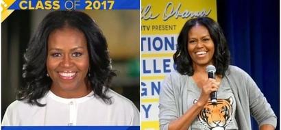 Michelle Obama sends HEARTFELT congratulatory message to high school graduates (photos, video)