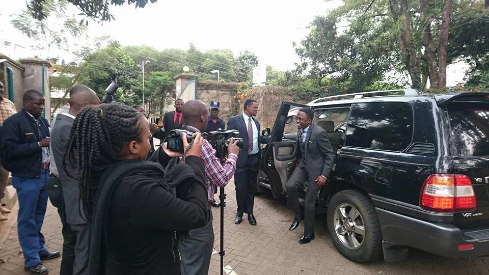 Namwamba seeks Germany's help to boost third political force