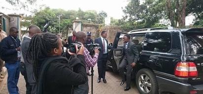 Namwamba seeks Germany's help to establish a third political force (photos)