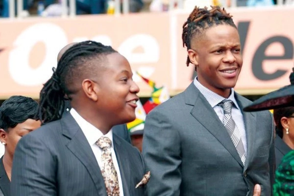 Mugabe sons launch own entertainment company days after their dad was thrown out of power