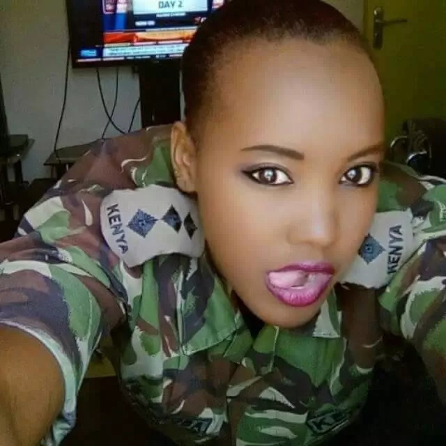 See photos of the girl who allegedly caused a KDF captain's suspension