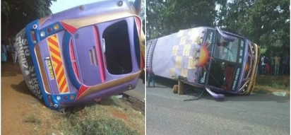 Forget about City Shuttle bus that overturned in Nairobi CBD, another one does the same along Waiyaki Way, leaving tens with injuries